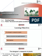 2 Plants –Structural and Spatial Consideration