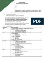NSTP LTS Course Outline