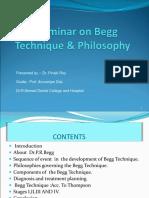 Begg Seminar
