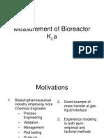 Bioreactor Kla