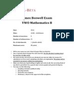 Boxwell Exam Example