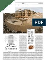 Mérida, paladar de América (Ocholeguas, 27-07-16)