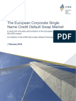 The European Corporate Single Name Credit Default Swap Market SMPC Report