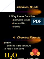 Ch. 11 Chemical Bonds