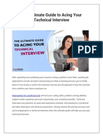 The Ultimate Guide to Acing Your Technical Interview