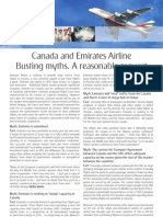 Emirates - Canada Myths Facts