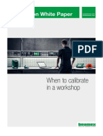 Beamex White Paper - When to Calibrate in a Workshop