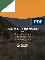 solar battery guide