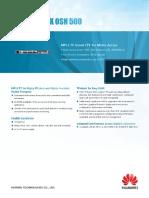 Brochure_Huawei OptiX OSN 500_EN