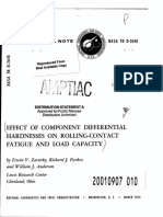 D2640-Effect of Component Differential Hardness on Rolling-Contact Fatigue and Load Capacity