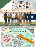 La Identidad Glocal de La Generación App - Presentación 13-09-18 UCSF