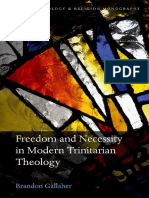 2.Trinitarian Theology (Freedom and Necessity in Modern) [Gallaher, Brandon] 2016
