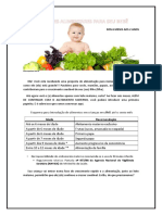 Cardápio para alimentação complementar sugestões.Ana Beatriz.docx