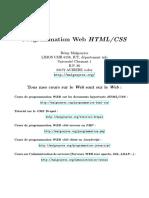 0593 Programmation Web Htmlcss