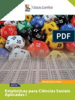 eBook Estatisticas Para Ciencias Sociais Aplicadas I-Ciencias Contabeis UFBA