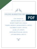 Group 3 - Online Marketing Big Skinny - Case Analysis