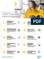 Top 10 Reasons Why Sap Successfactors Solutions Infographic