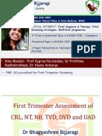 First Trimester Screening b Bhagyashree Bhijjaragi