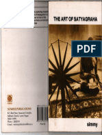 The Art of Satyagraha Written by Dr Simmy Joseph
