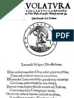 DA MILANO Intavolatura de Viola o Vero Lauto Fortuna 2. Sultzbach 1536