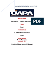 Tarea 2 de Gestion Educativa