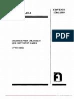 COVENIN 1706-99 Colores para cilindros que contienen gases.pdf