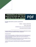 128971933 Energias Alternativas y Sustitucion Del Petroleo