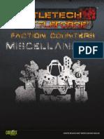 Battletech - BattleForce Tokens Misc