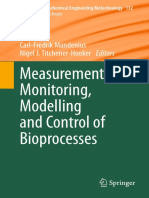 Measurement, Monitoring, Modelling and Control of Bioprocess