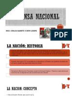 Defensa Nacional Clase 1