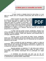Legislação Tributária Do Rio de Janeiro