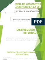 Incidencia de Los Costos Logisticos en La Dfi