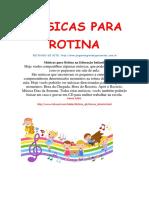 Músicas Para Rotina 1 1 1