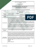 DC Estructuracion Proyectos de Investigación
