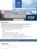 Ecuaciones Difereciales