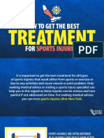 How to Get the Best Treatment for Sports Injuries