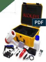 Buckleys Cathodic Protection - (CP) Meter - Manual