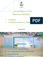 Aula III_Agroecologia e Suas Diversas Facetas_Ecologia