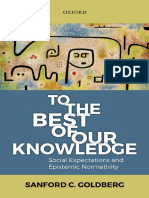 To the BEST of Our Knowledge_ Social Expectations and Epistemic Normativity_Goldberg.pdf