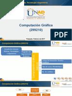 Presentación curso de computación gráfica