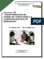 MANUAL DE TRASFORMACION DE CARNE DE CERDO PARA LA COMERCIALIZACION DE DERIVADOS.docx