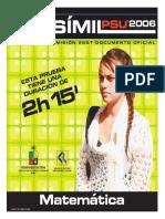 2007  Facsimil Matematica