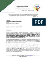 Oficios de Capacitación a Rectores ,Directores Rurales y Personal Simat