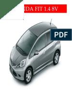 HondaFit Analise Gases