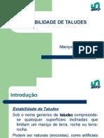 Estabilidade de Taludes