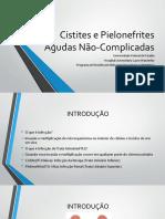 CESTITES E PIELONEFRITES AGUDAS - NÃO CONFIRMADOS