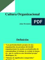 Cultura Organizacional (Para Clases 2019) - Psicología