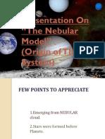 Nebular Theoryppt