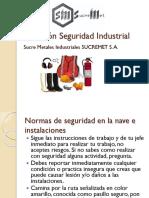 Inducción Seguridad Industrial SUCREMET