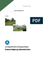 U.S. Federal Highway Administration Noise Measurement Handbook 2018
